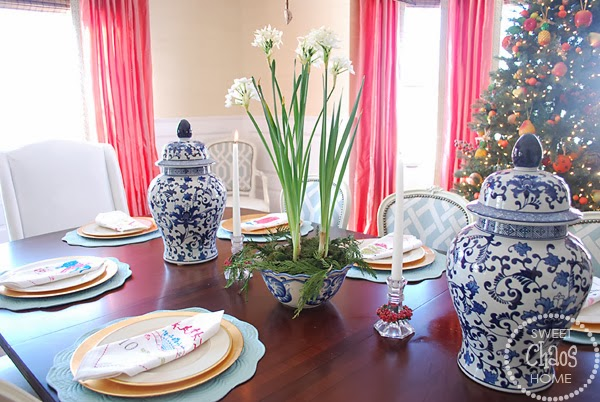 How to Decorate Your Dining Table For Christmas 20 Stunning Ideas (3)