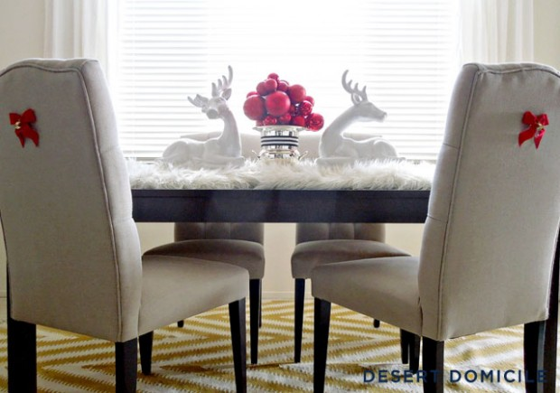 How to Decorate Your Dining Table For Christmas 20 Stunning Ideas (6)