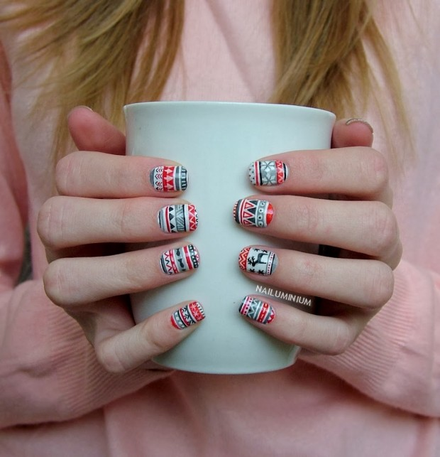 Marry and Bright Nails for Holiday Season 22 Gorgeous Ideas (5)