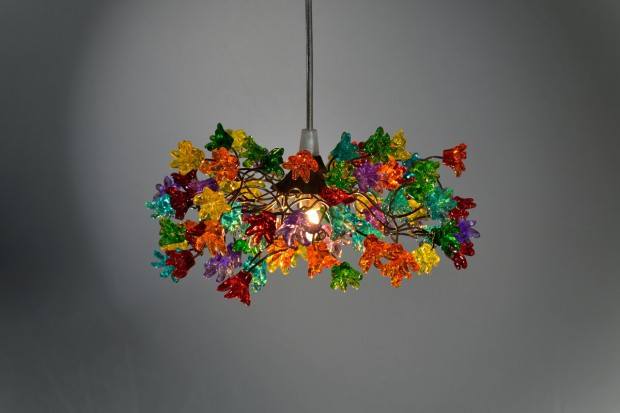15 Incredibly Colorful Handmade Ceiling Lamp Designs