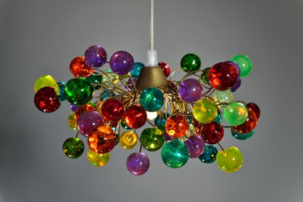 15 Incredibly Colorful Handmade Ceiling Lamp Designs (4)