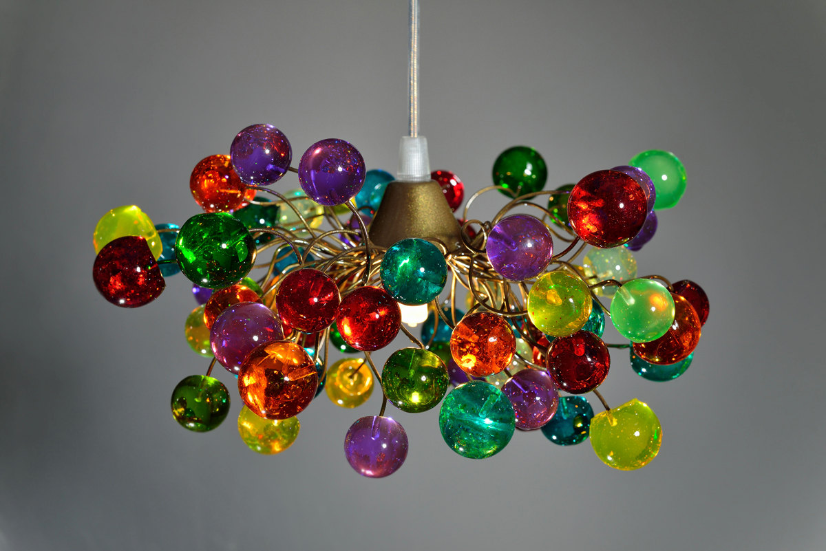 15 Incredibly Colorful Handmade Ceiling Lamp Designs - Style ...