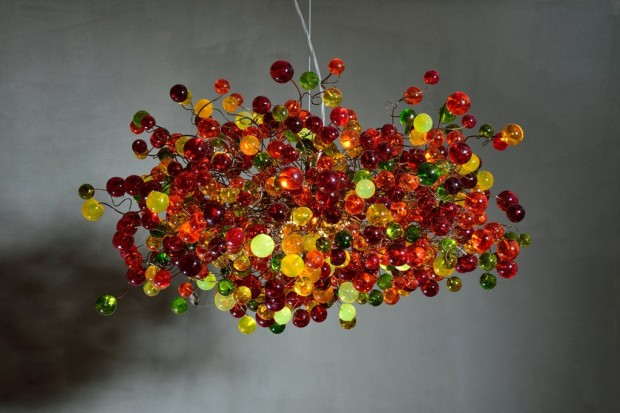 15 Incredibly Colorful Handmade Ceiling Lamp Designs (8)