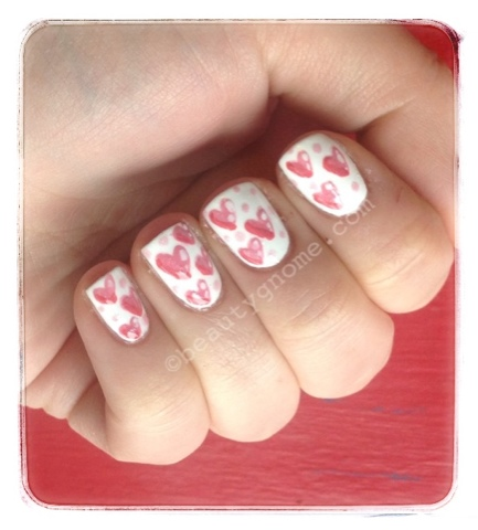 17 Adorable Nail Art Ideas for Valentine's Day (1)