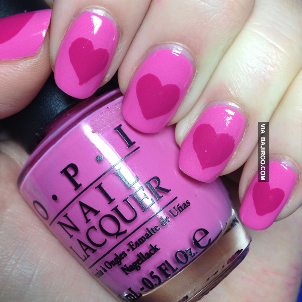 17 Adorable Nail Art Ideas for Valentine's Day