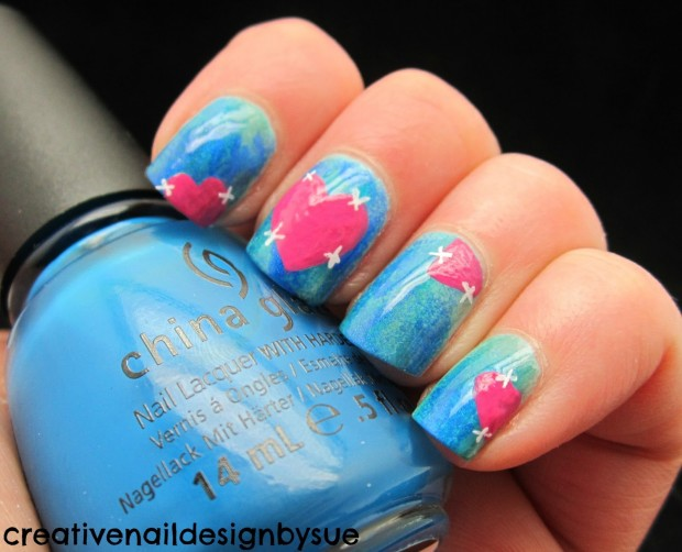 17 Adorable Nail Art Ideas for Valentine's Day (13)