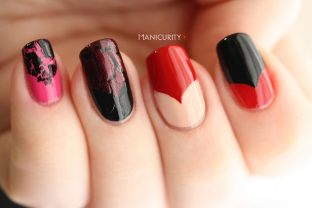 17 Adorable Nail Art Ideas for Valentine's Day (16)
