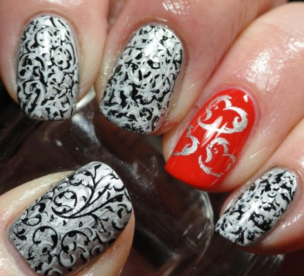 17 Adorable Nail Art Ideas for Valentine's Day (2)