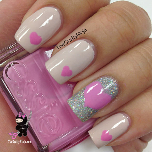 17 Adorable Nail Art Ideas for Valentine's Day (4)