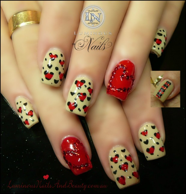 17 Adorable Nail Art Ideas for Valentine's Day (6)