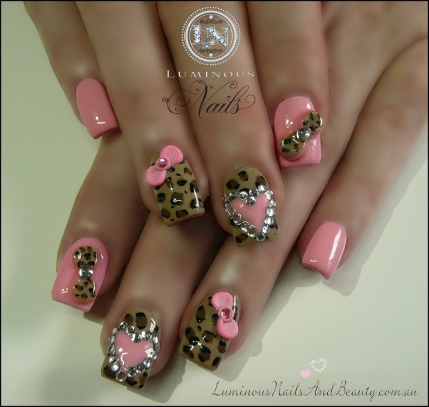 17 Adorable Nail Art Ideas for Valentine's Day (7)