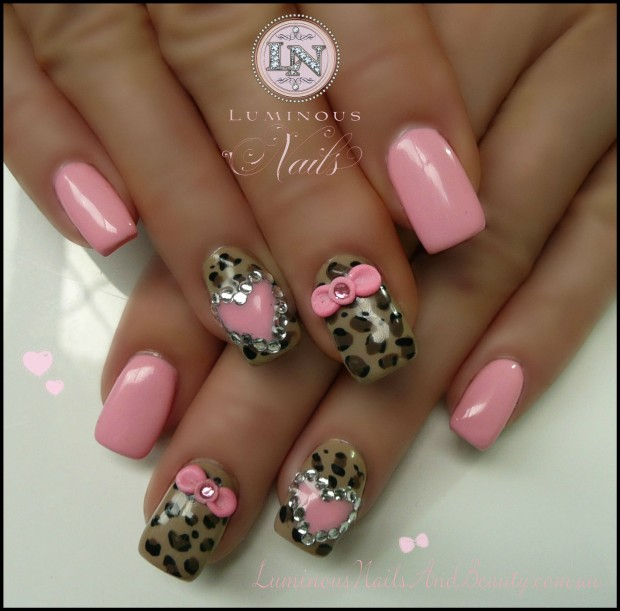 17 Adorable Nail Art Ideas for Valentine's Day (9)