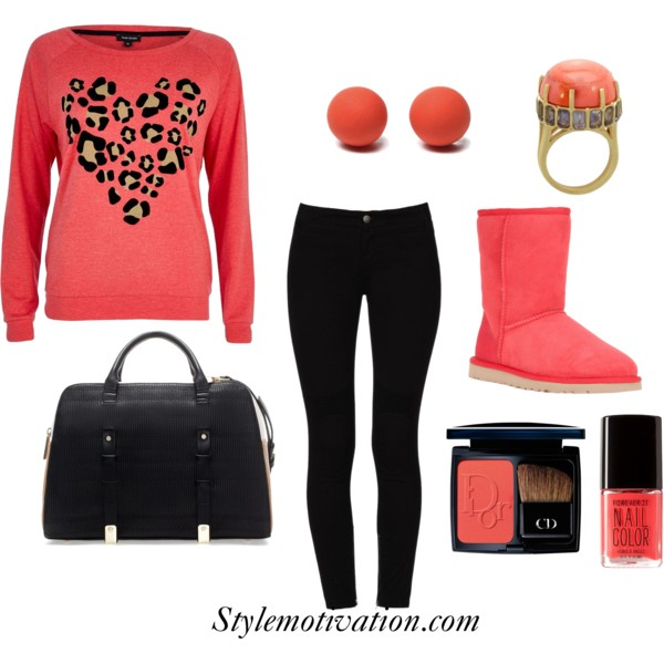 17 Amazing Valentine's Day Outfit Combinations (14)