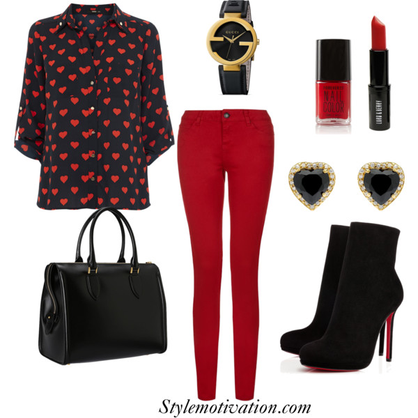 17 Amazing Valentine's Day Outfit Combinations (15)
