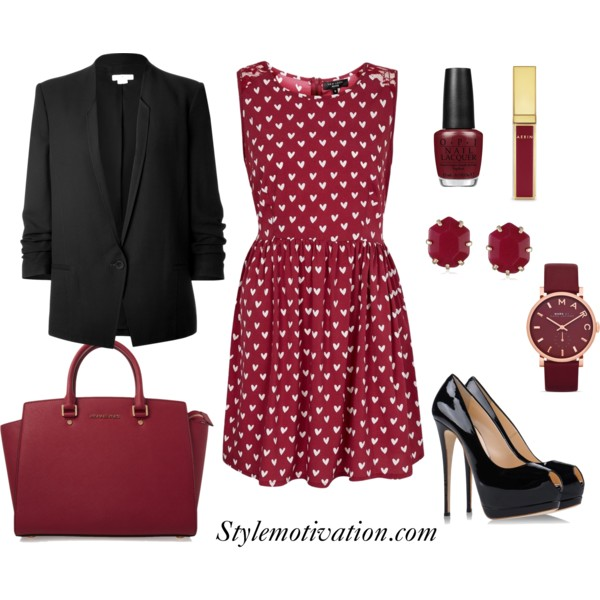 17 Amazing Valentine's Day Outfit Combinations (2)
