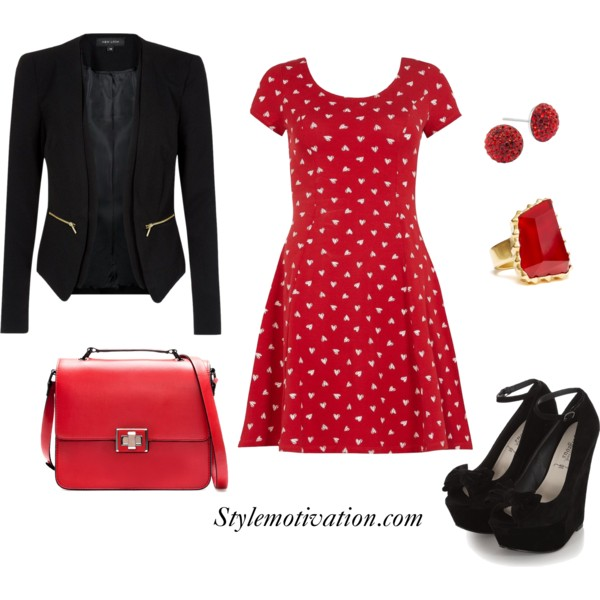 17 Amazing Valentine's Day Outfit Combinations