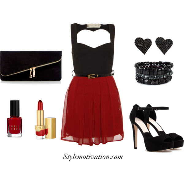 17 Amazing Valentine's Day Outfit Combinations (5)