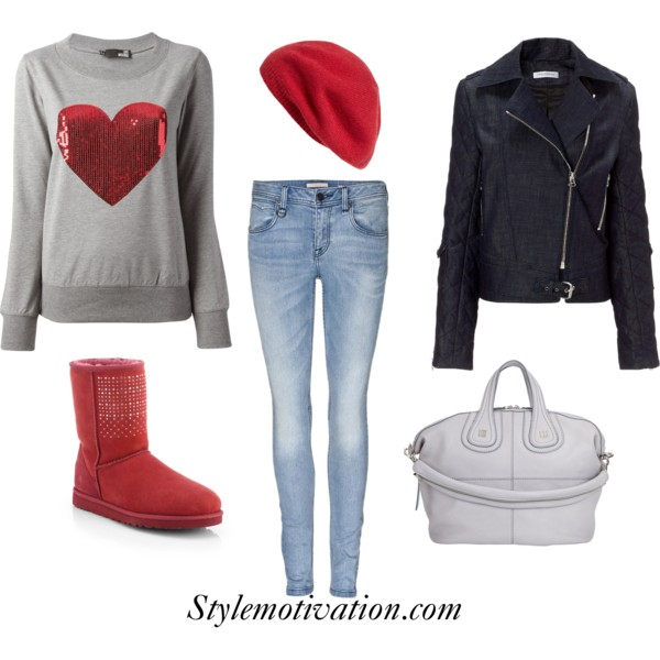 17 Amazing Valentine's Day Outfit Combinations (6)