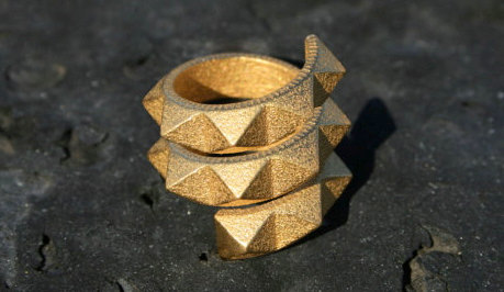 17 Crazy 3D Printed Ring Designs