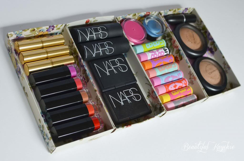 Makeup palette organizer diy makeup vidalondon Makeup organizer ideas