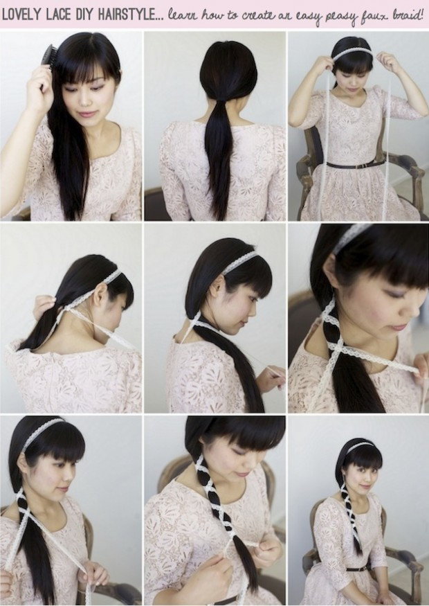 17 Romantic Hairstyle Ideas and Tutorials  (11)