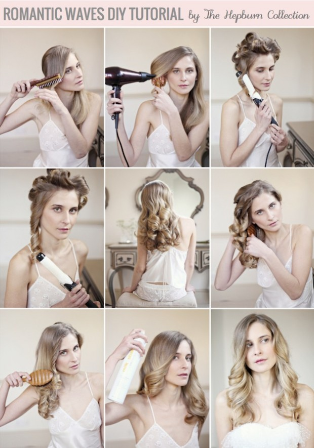 17 Romantic Hairstyle Ideas and Tutorials  (12)