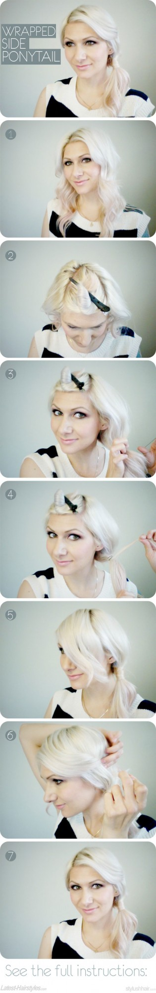 17 Romantic Hairstyle Ideas and Tutorials  (15)