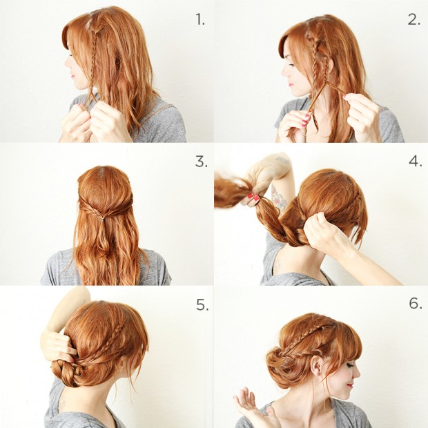 17 Romantic Hairstyle Ideas and Tutorials  (2)