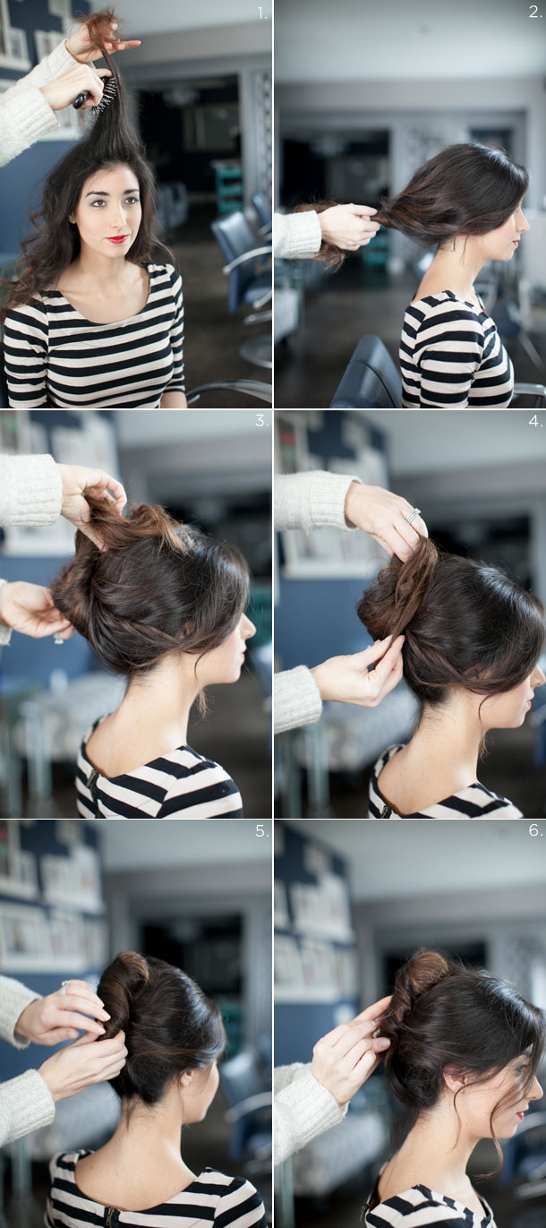17 Romantic Hairstyle Ideas and Tutorials  (6)