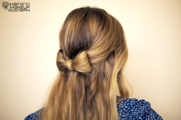 17 Romantic Hairstyle Ideas and Tutorials  (8)