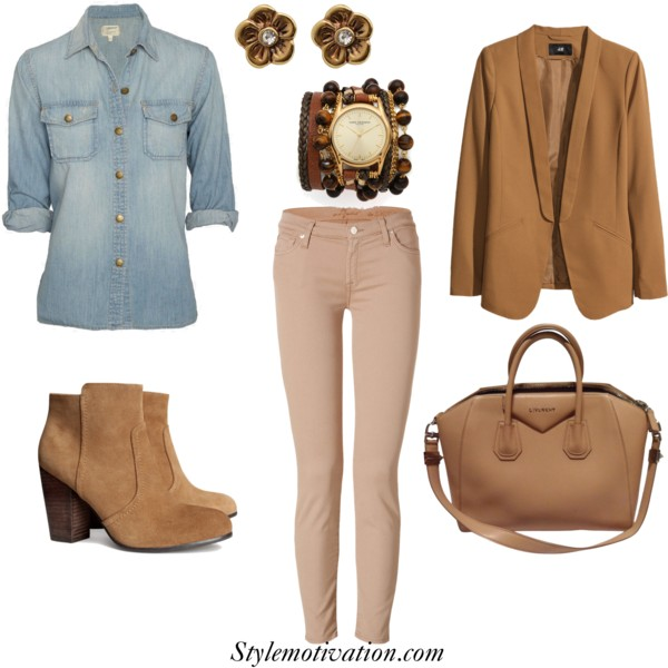 17 Stylish Outfit Combinations for Spring (2)