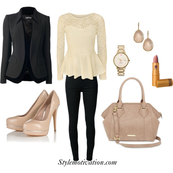 17 Stylish Outfit Combinations for Spring (4)