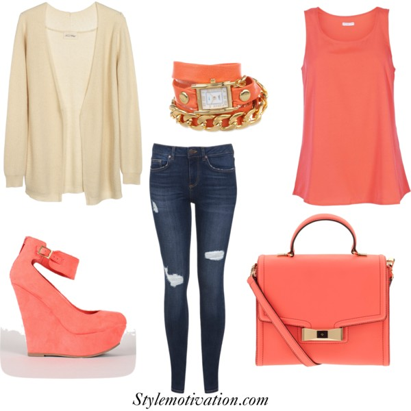 17 Stylish Outfit Combinations for Spring (8)