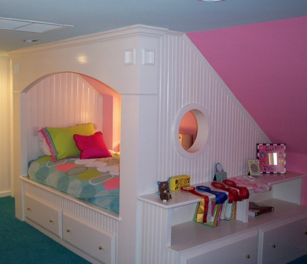18 Creative and Clever Alcove Bed Design Ideas (2)