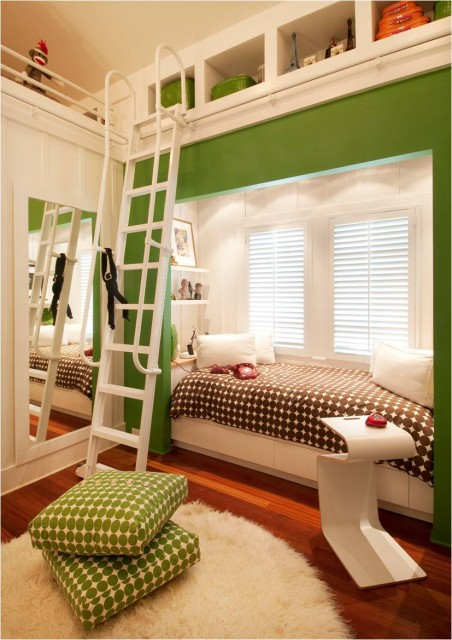 18 Creative and Clever Alcove Bed Design Ideas (4)