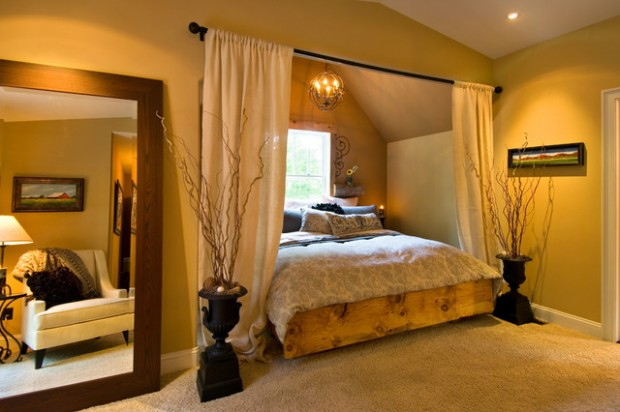 18 Creative and Clever Alcove Bed Design Ideas (7)
