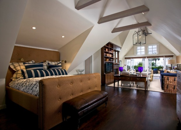 18 Creative and Clever Alcove Bed Design Ideas (9)