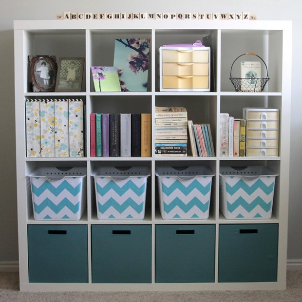office supplies storage. 18 Great DIY Office Organization and Storage Ideas  Style Motivation
