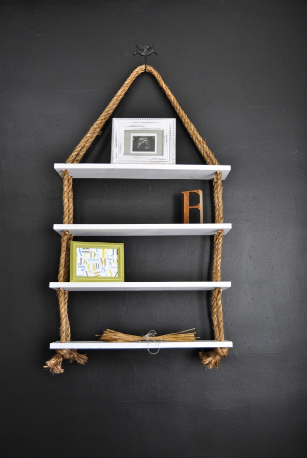 18 Interesting and Useful DIY Shelves for Your Home