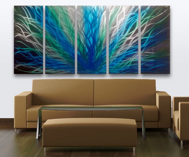 18 Mind Blowing Handmade Modern Metal Wall Art Pieces