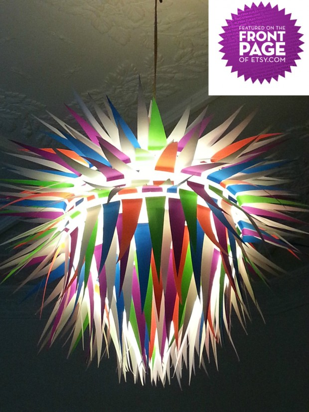 18 Outstandingly Creative Handmade Paper Lampshades