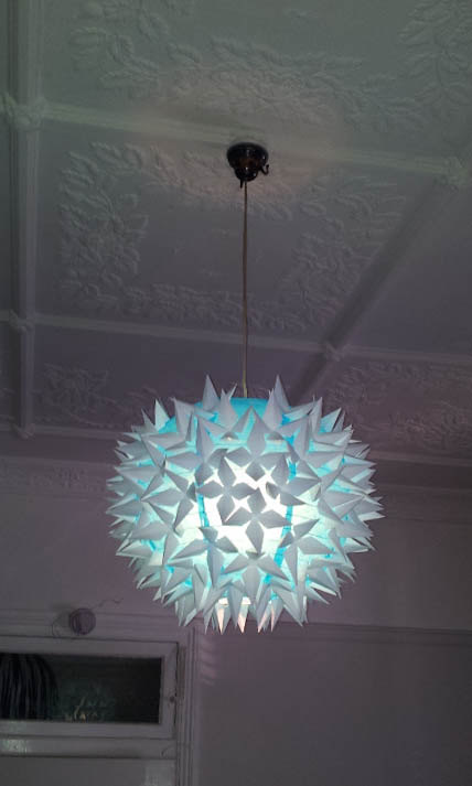 18 Outstandingly Creative Handmade Paper Lampshades (13)