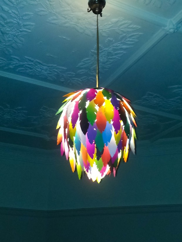 18 Outstandingly Creative Handmade Paper Lampshades (15)