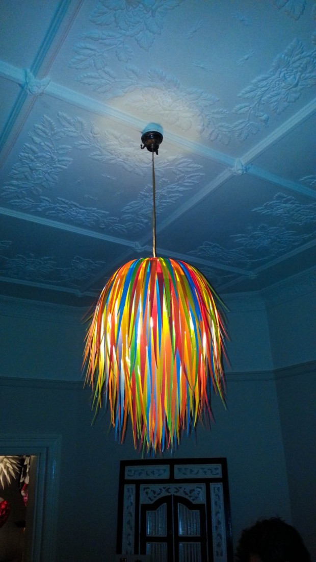 18 Outstandingly Creative Handmade Paper Lampshades (4)