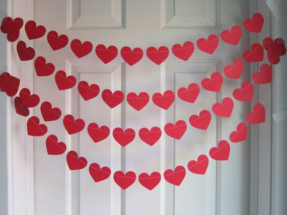 18 romantic diy home decor project for valentine s day for Heart decorations for the home
