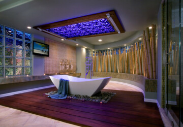 18 Spectacular Home Spa Designs for Perfect Relaxation  - Relaxing, home spa, bathroom ideas, bathroom