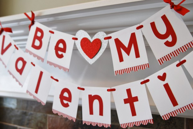 18 Wonderful Handmade Valentines Day Banners