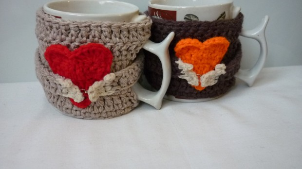 19 Simple yet Creative Handmade Cup Cozies