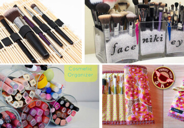 17 Great DIY Makeup Organization and Storage Ideas - makeup organization, diy storage, diy organization projects, diy makeup storage