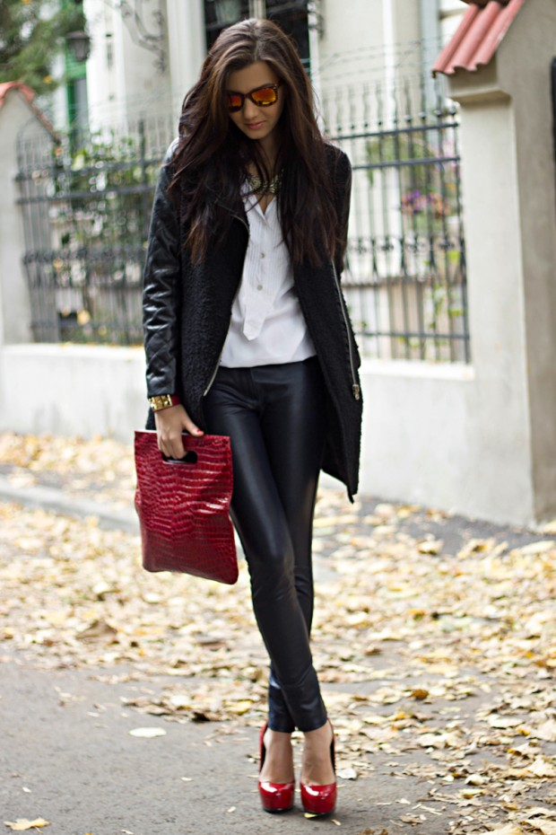 20 Amazing Outfit Ideas From Fashion Blog The Mysterious Girl By Larisa Costea Style Motivation